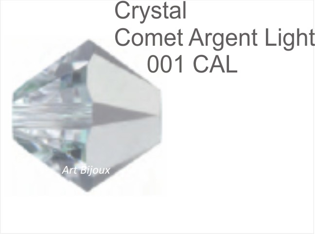 Bicono 6 mm - Crystal Comet Argent Light