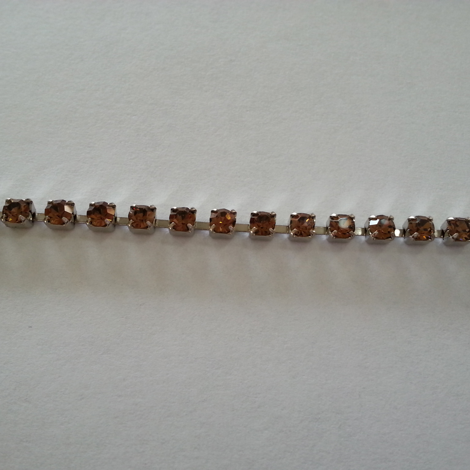 Catena strass 3mm