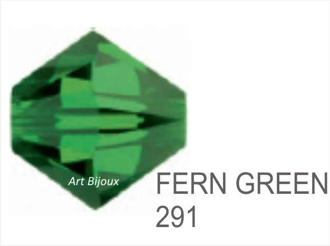 Bicono 6 mm - Fern Green