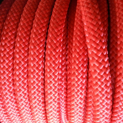 Climbing cord 10mm - Rosso (1metro)